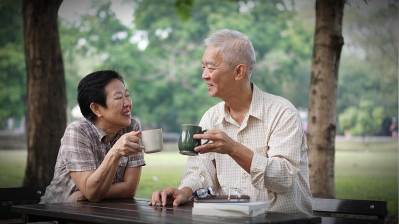 area seniors bay Asian american