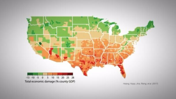 Which U.S. States Will Suffer The Most From Climate Change? · Giving ...